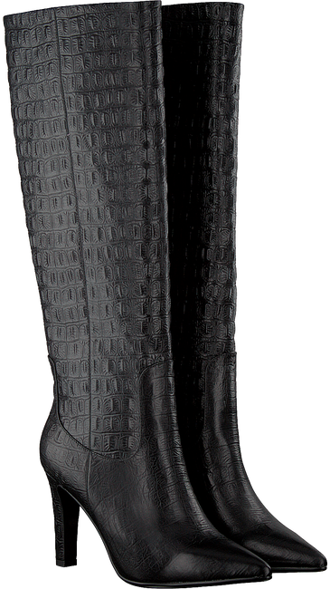 Zwarte LOLA CRUZ Lange laarzen 301B78BK - large