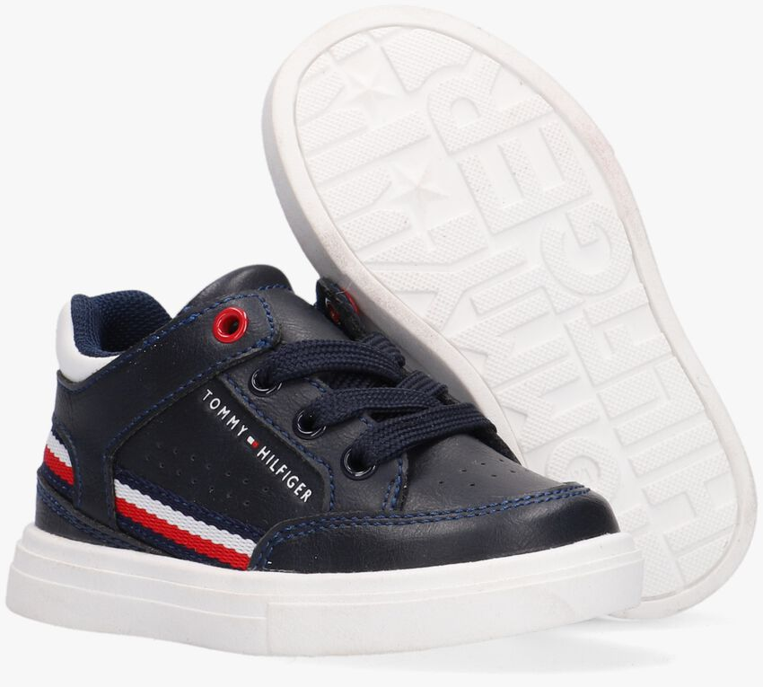 Blauwe TOMMY HILFIGER Lage sneakers 32043  - larger