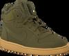 Groene NIKE Sneakers COURT BOROUGH MID WINTER KIDS - small