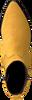Gele DEABUSED Enkellaarsjes 7433  - small