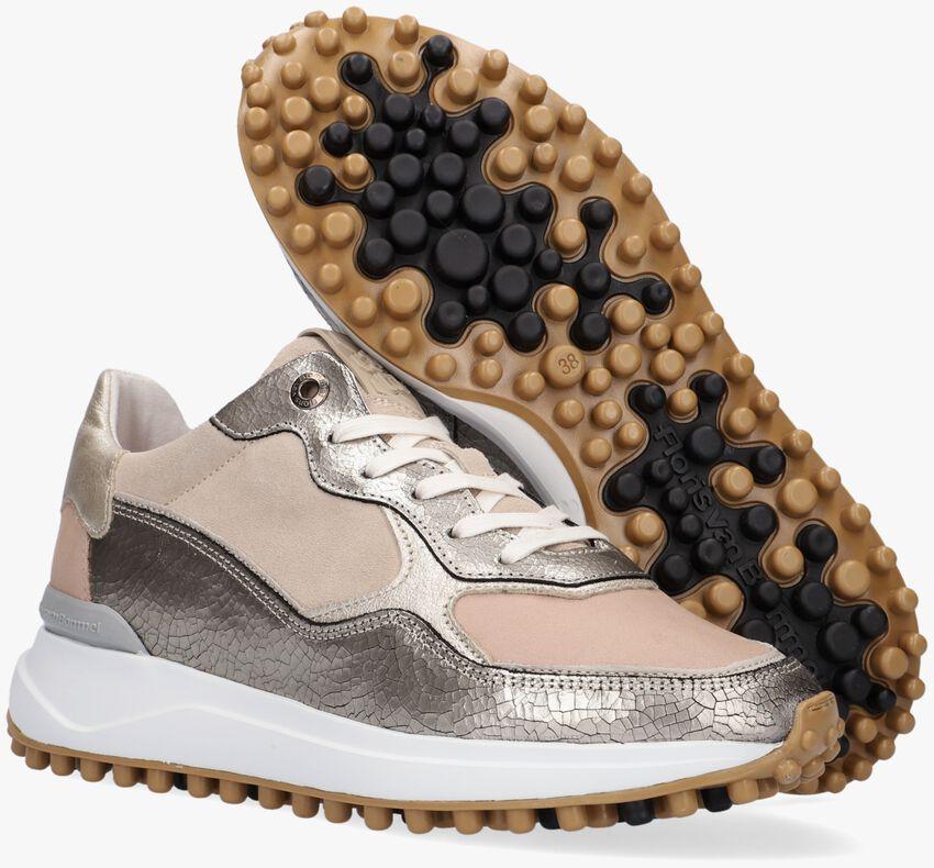 Beige FLORIS VAN BOMMEL Lage sneakers 85343  - larger