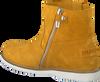 Gele SHABBIES Enkellaarsjes SHK0029  - small