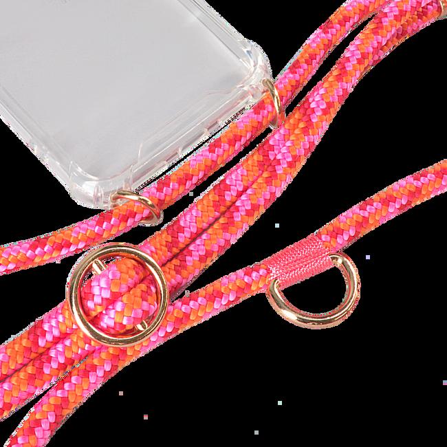 Roze KASCHA-C Telefoonkoord PHONECORD IPHONE X/XS  - large