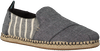 Grijze TOMS Instappers DECONSTRUCTED ALPARGATA ROPE M - small