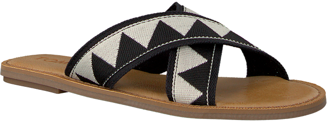 Zwarte TOMS Slippers VIV  - large