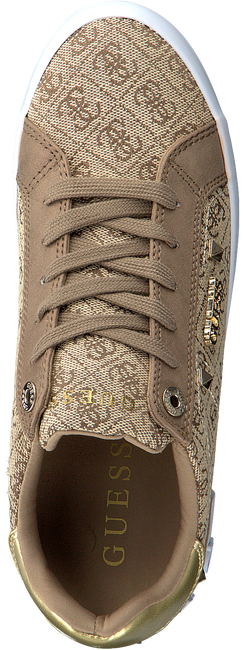 Beige GUESS Lage sneakers PUXLY  - large