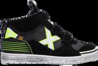 Zwarte MUNICH Hoge sneaker G3 BOOT VELCRO  - medium