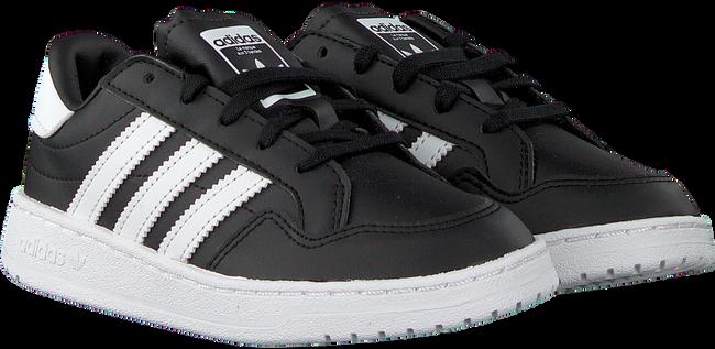 Zwarte ADIDAS Lage sneakers TEAM COURT C  - large