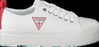 Witte GUESS Lage sneakers BRIGS  - medium