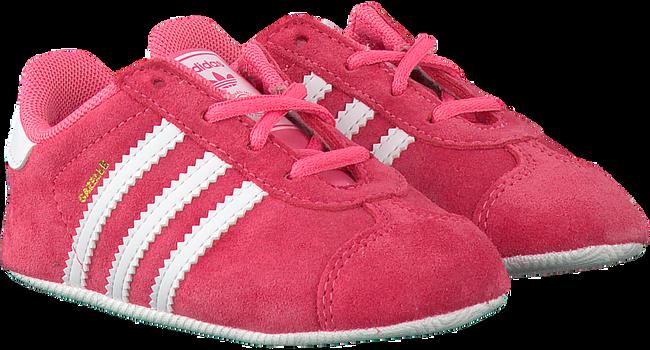 Roze ADIDAS Babyschoenen GAZELLE CRIB  - large