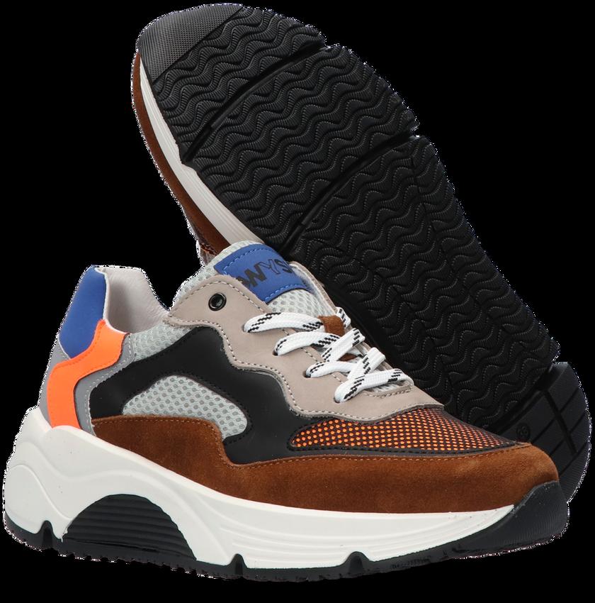 Cognac WYSH Lage sneakers JOEL  - larger