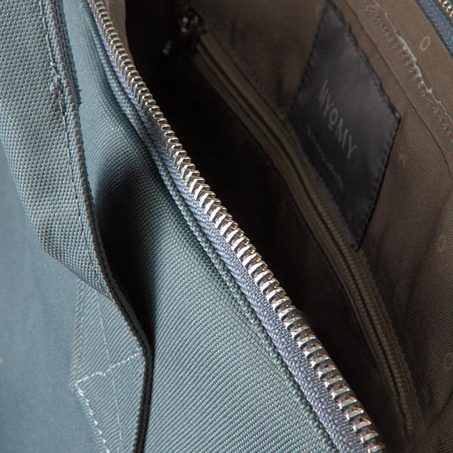 Blauwe MYOMY Laptoptas MY PHILIP BAG LAPTOP  - large