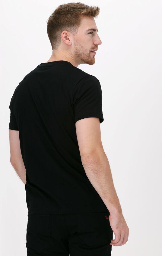 Zwarte DIESEL T-shirt T-DIEGOS-B10  - larger