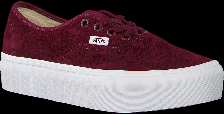 d324a7376ef Rode VANS Sneakers AUTHENTIC PLATFORM WMN. VANS. Previous