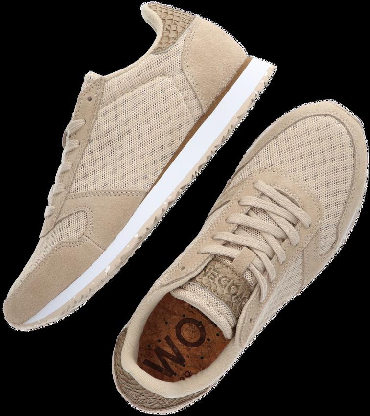 Beige WODEN Lage sneakers YDUN SUEDE MESH II  - larger