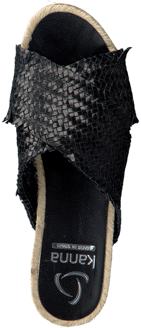 Zwarte KANNA Slippers 20191  - large