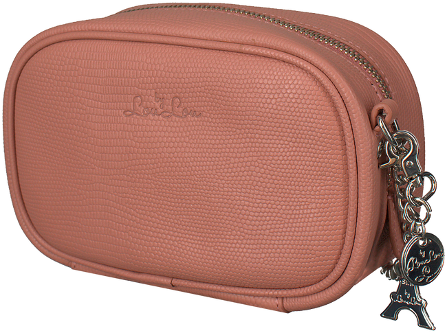 Roze BY LOULOU Schoudertas 03POUCH107S - large