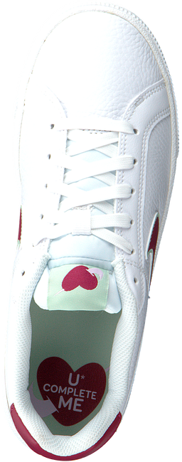 Witte NIKE Lage sneakers COURT ROYALE PREMIUM WMNS  - large