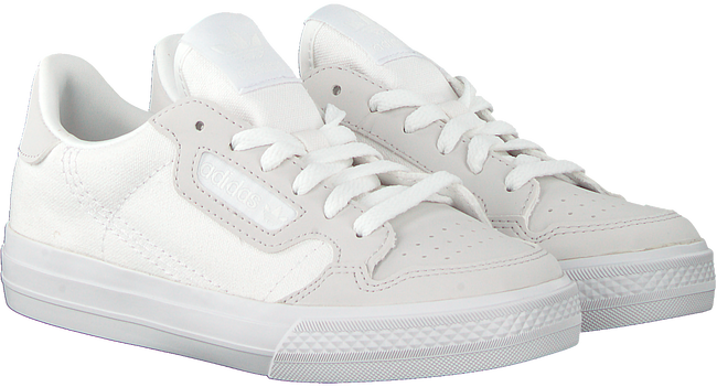 Witte ADIDAS Lage sneakers CONTINENTAL VULC J  - large