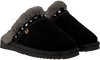 Zwarte WARMBAT Pantoffels FLURRY WOMEN STUDS - small