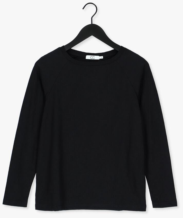 Zwarte CC HEART T-shirt LONG SLEEVE TSHIRT - larger