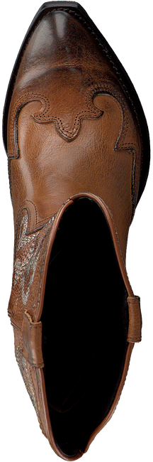 Cognac OMODA Lange laarzen TEX503 - large