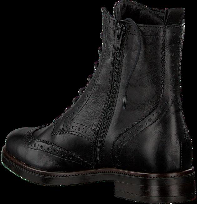 Zwarte NOTRE-V Enkellaarsjes 44201  - large