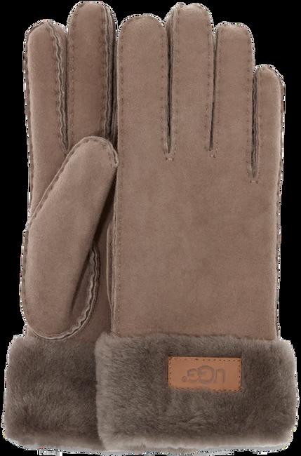 Taupe UGG Handschoenen TURN CUFF GLOVE - large