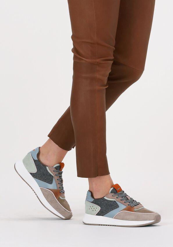 Grijze THE HOFF BRAND Lage sneakers BUCKINGHAM  - larger