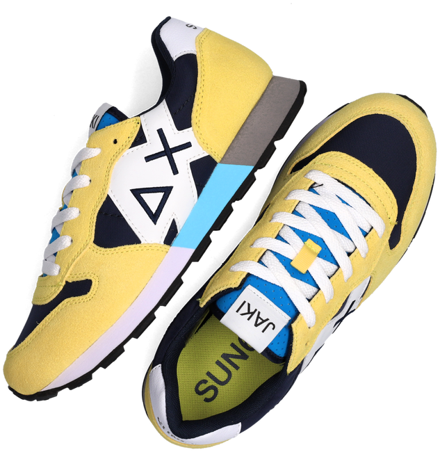 Gele SUN68 Lage sneakers BOYS JAKI PARTY TIME  - large