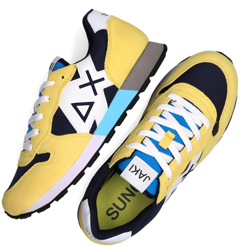Gele SUN68 Lage sneakers BOYS JAKI PARTY TIME  - larger