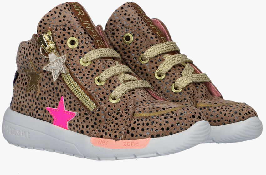 Taupe SHOESME Hoge sneaker RF21W040  - larger