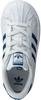 Witte ADIDAS Sneakers SUPERSTAR EL I  J - small
