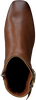 Cognac TOMMY HILFIGER Enkellaarsjes BASIC SQUARE TOE  - small