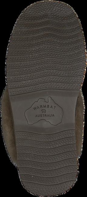 Groene WARMBAT Pantoffels FLURRY WOMEN SUEDE - large