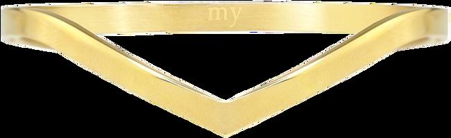 Gouden MY JEWELLERY Armband V BANGLE - large