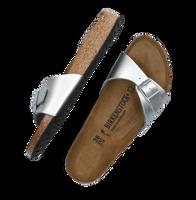 Zilveren BIRKENSTOCK PAPILLIO Slippers MADRID  - medium