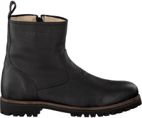 Zwarte BLACKSTONE Enkelboots OM63  - medium