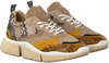 Gele DEABUSED Sneakers 7530  - small