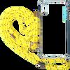 Gele KASCHA-C Telefoonkoord PHONECORD IPHONE XS MAX  - small