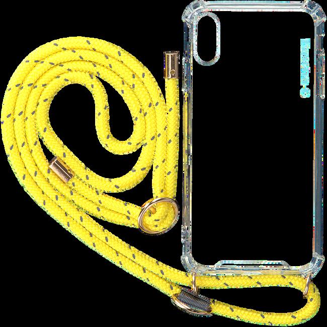 Gele KASCHA-C Telefoonkoord PHONECORD IPHONE XS MAX  - large