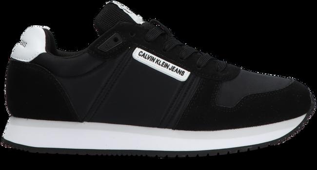Zwarte CALVIN KLEIN Lage sneakers RUNNER SNEAKER LACE UP - large
