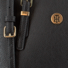 Zwarte TOMMY HILFIGER Handtas HONEY FINEGRAIN SMALL TOTE  - small