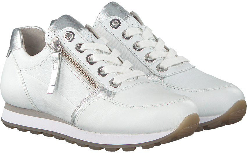 Witte GABOR Sneakers 035 - larger