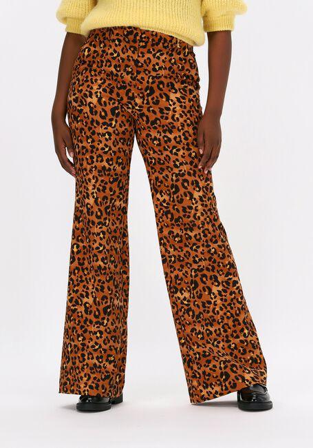 Leopard FABIENNE CHAPOT Flared broek PUCK TROUSERS  - large