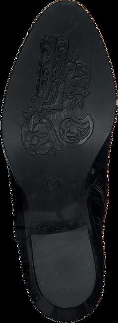 Zwarte MJUS Enkellaarsjes 187212  - large