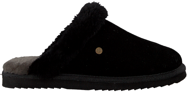 Zwarte WARMBAT Pantoffels BURLEY  - large