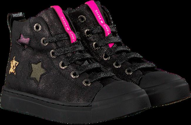 Zwarte SHOESME Veterschoenen SH9W020  - large