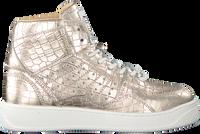 Gouden TORAL Hoge sneaker 12406  - medium
