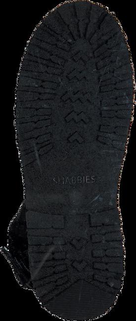 Zwarte SHABBIES Enkellaarsjes 181020129 - large